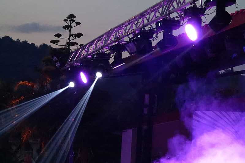 sound and lighting system rental kl