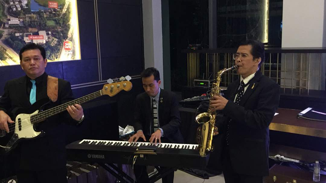 jazz band performance in Malaysia