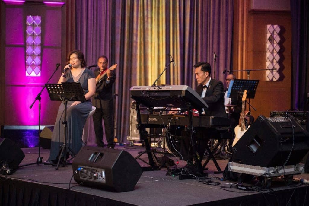 professional event live band