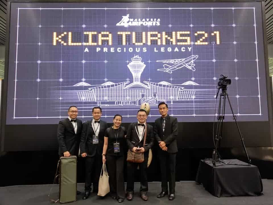 Live Band Performance – KLIA Turns 21