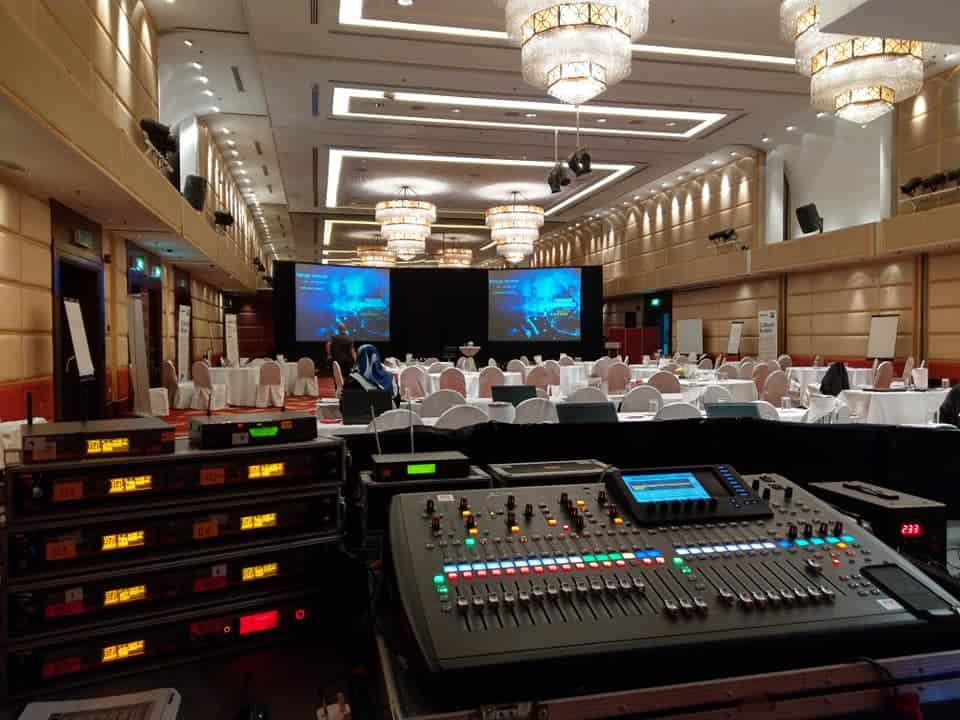 Sound and Lighting System – EagleStar Seminar