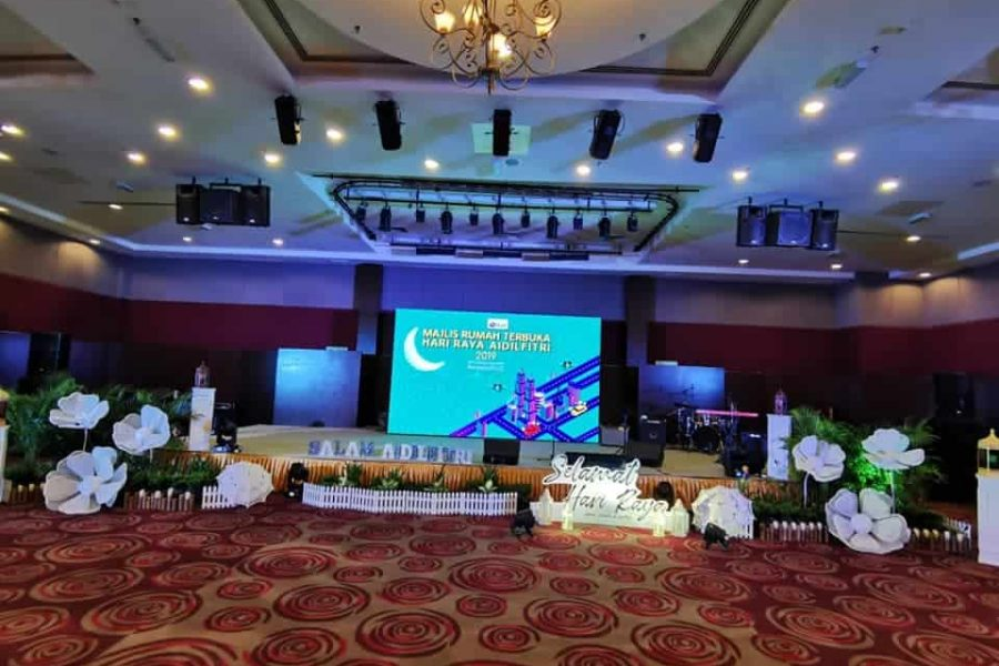 Sound and Lighting System – PLUS Hari Raya Open House