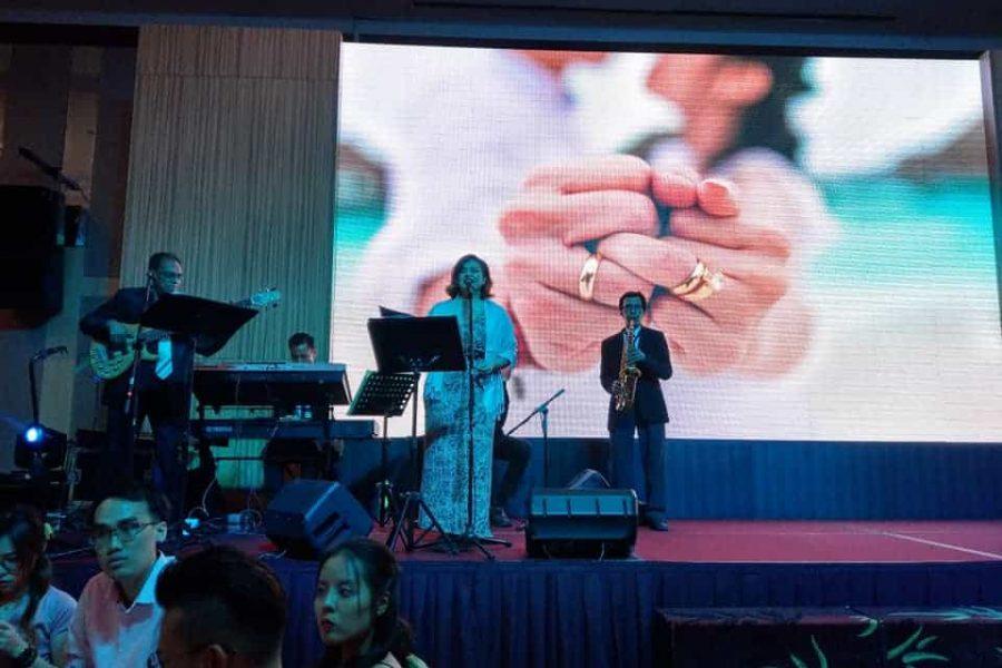 Wedding Band Performance – Extra Super Tanker, The Club @ Bukit Utama