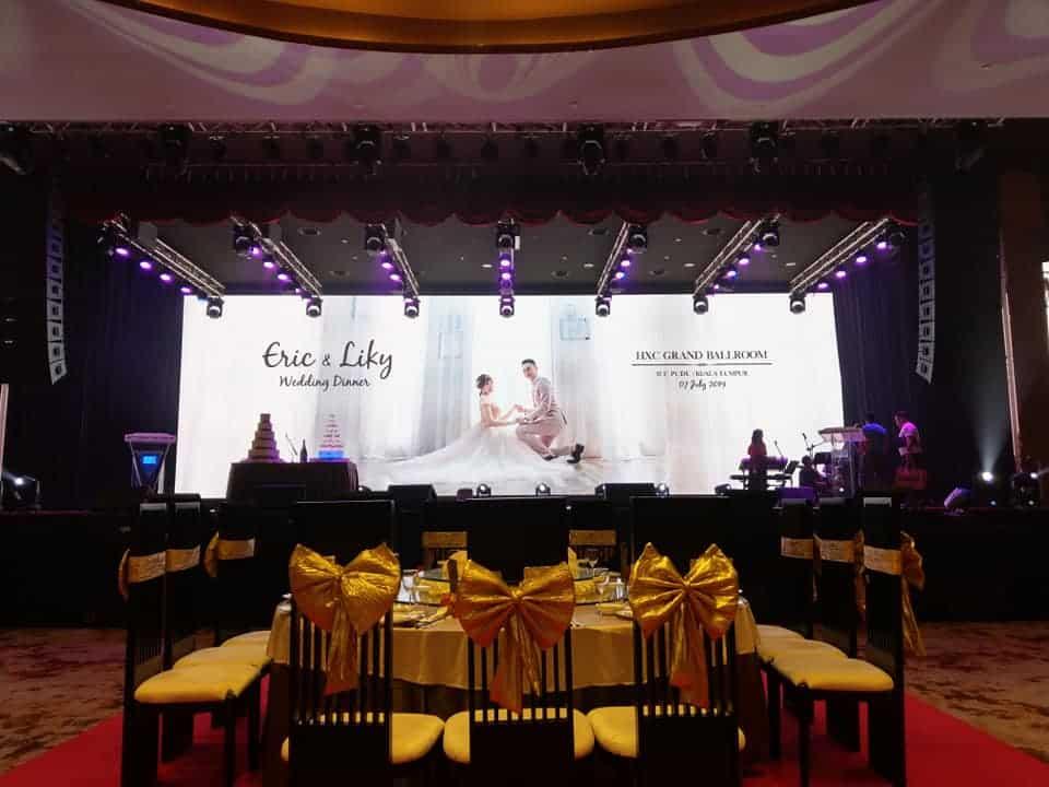 Wedding Band Performance – HXC Ballroom ICC Pudu KL