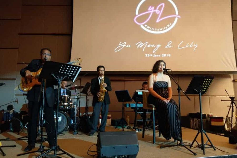 Wedding Band Performance – DoubleTree Hotel KL