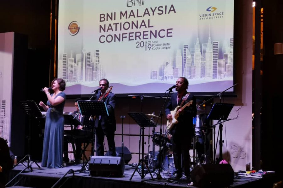 Live Band Performance – BNI Malaysia National Conference 2019