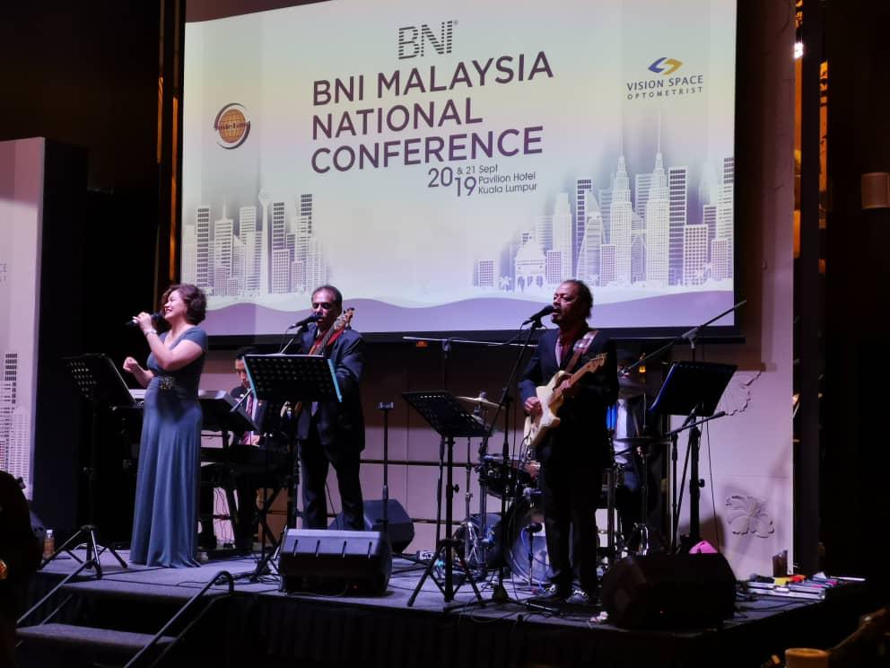 Live Band Performance – BNI Malaysia National Conference 2019